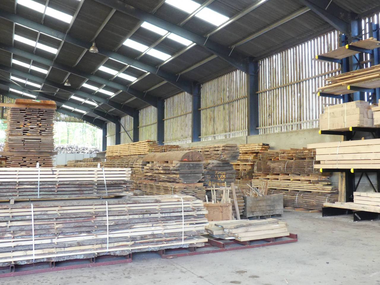 Image for: Large Selection of Hard and Softwoods
