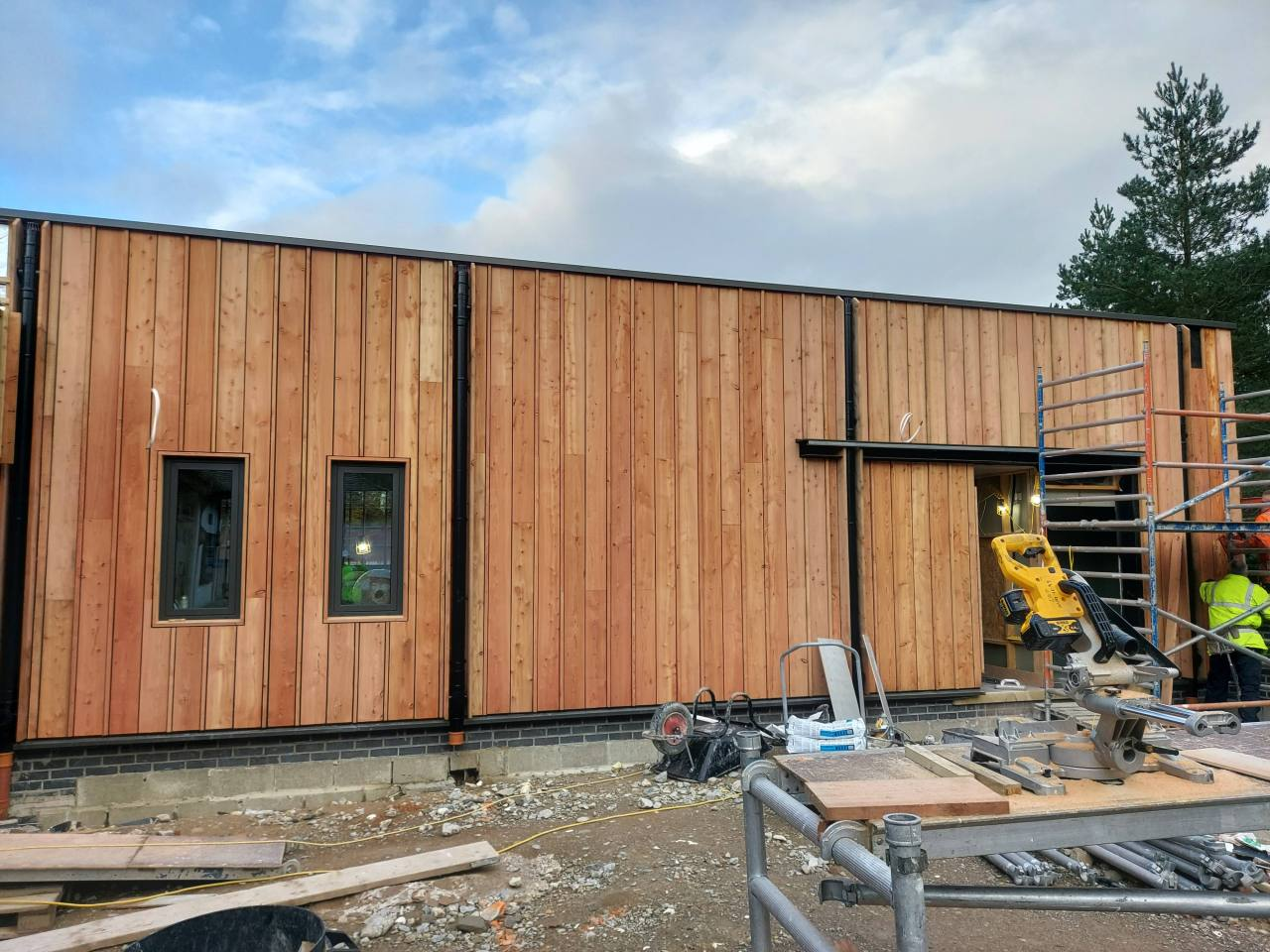 Header Image for: Larch Cladding
