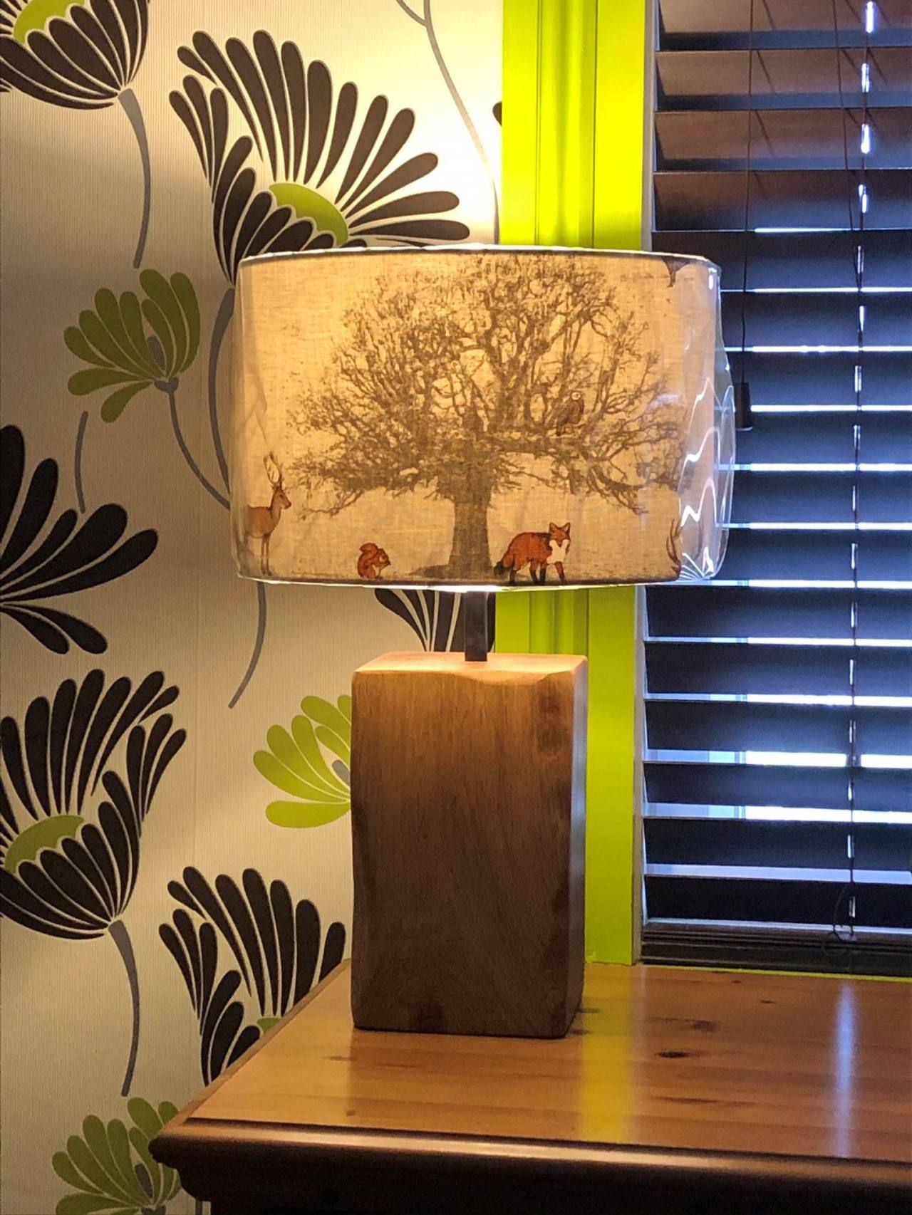 Image for: Oak Lamp